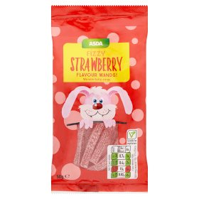 ASDA Chosen By You Fizzy Strawberry Flavour Wands
