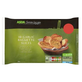 ASDA Chosen By You Garlic Baguette Slices