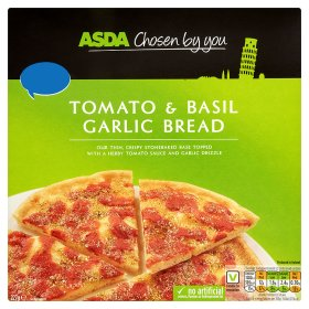 ASDA Chosen by You Tomato & Basil Garlic Bread