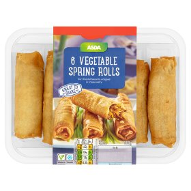 ASDA Vegetable Rolls