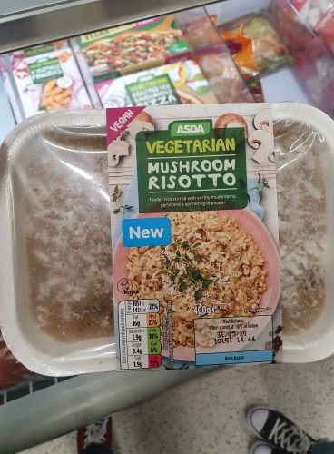 ASDA Vegetarian Mushroom Risotto