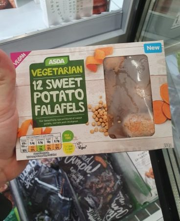 ASDA Vegetarian & Vegan 12 Sweet Potato Falafels