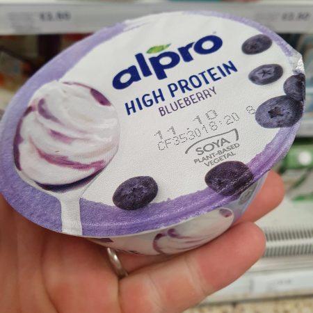 Alpro Greek Style Blueberry Yoghurt 150G