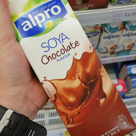 Alpro Soya Chocolate Fresh Drink Alternative 1 Litre