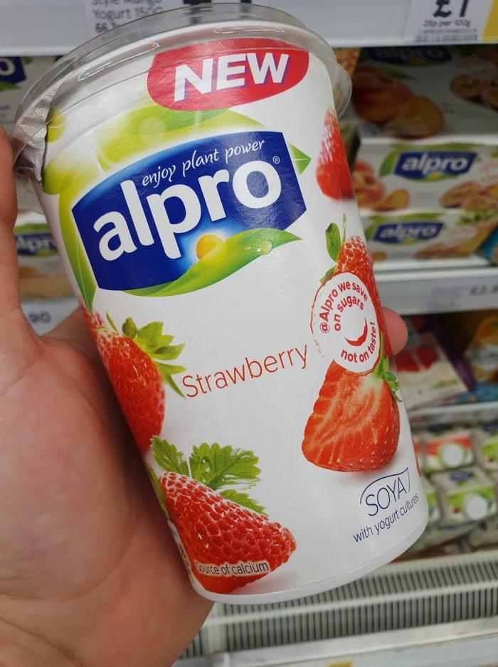 Alpro Strawberry Yoghurt 500G