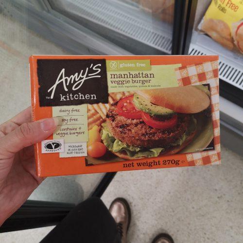 Amy's Kitchen Gluten Free Manhattan Veggie Burger Frozen