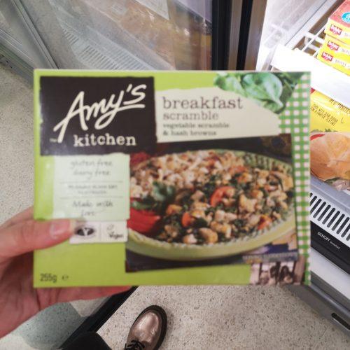 Amy's Kitchen Breakfast Scramble & Hash Browns