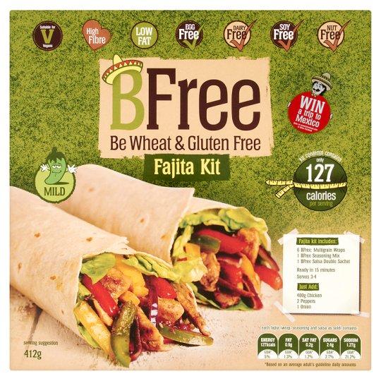 Bfree Fajita Kit Allergen Free 412G