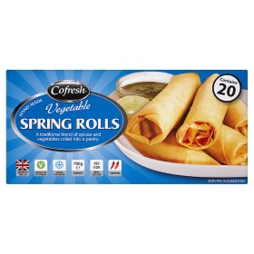 Cofresh Hand Made Vegetable Spring Rolls
