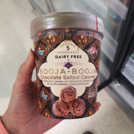 Dairy Free Booja-Booja Chocolate Salted Caramel Ice Cream
