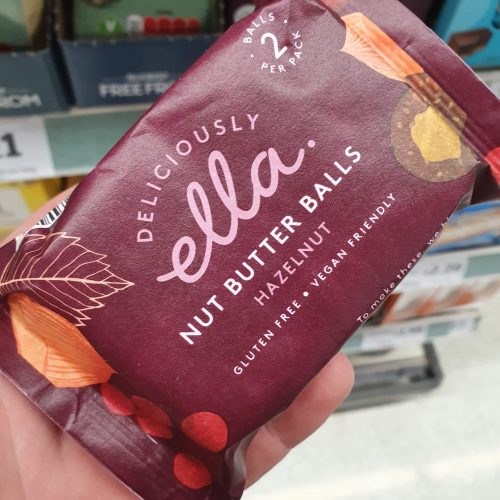 Deliciously Ella Nut Butter Balls Hazelnut 36g