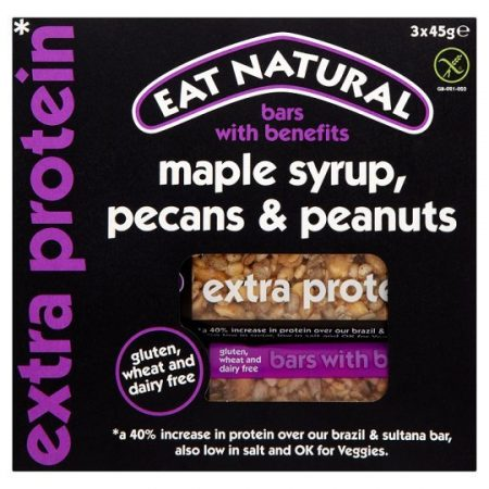 Eat Natural Bars Maple Syrup Pecan And Peanut 45G