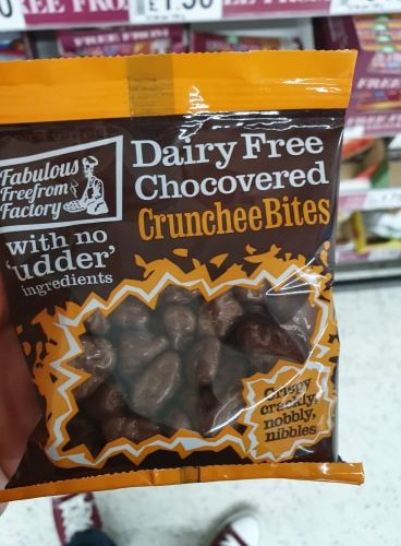 Fabulous Freefrom Factory Dairy Free Chocovered Crunchee Bites