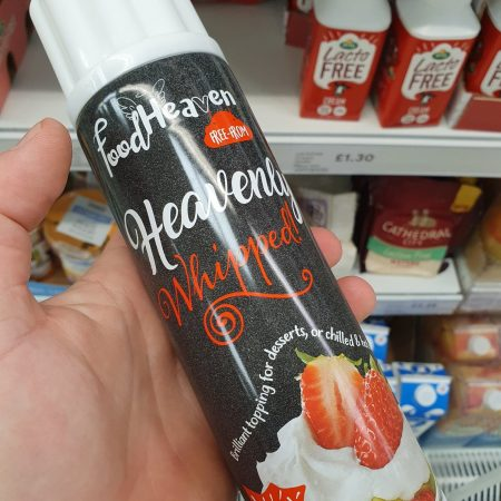 Food Heaven Whipped Spray Cream Vegan 200Ml