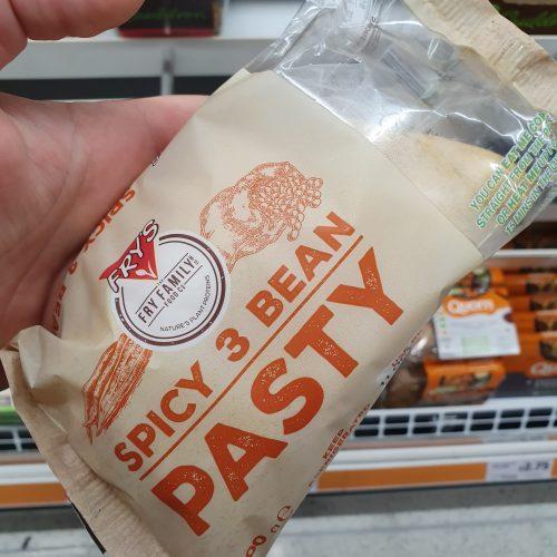 Fry's Vegan Spicy 3 Bean Pasty 200g