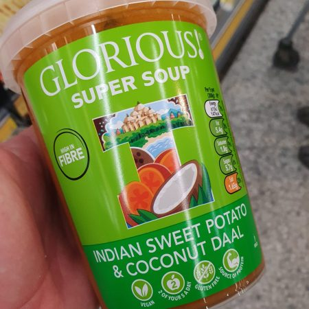Glorious Super Soups Indian Sweet Potato & Coconut Daal 600g