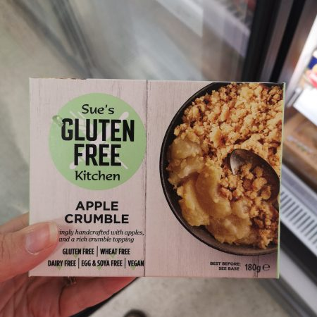 Gluten Free Kitchen apple crumble