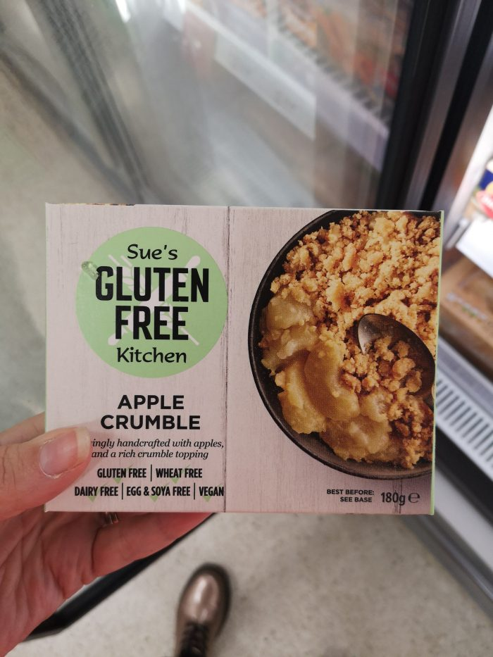 Gluten Free Kitchen apple crumble