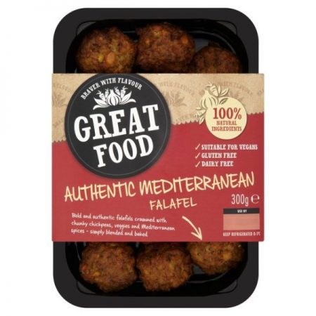 Great Food Mediterranean Falafel 300g