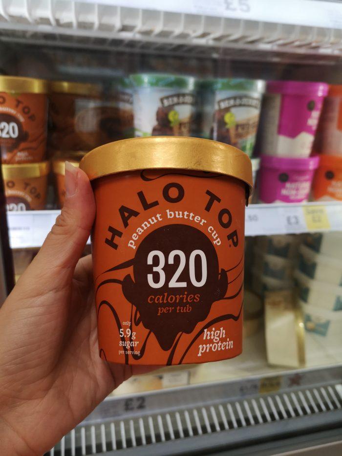 Halo Top Peanut Butter Cup Ice Cream 473Ml