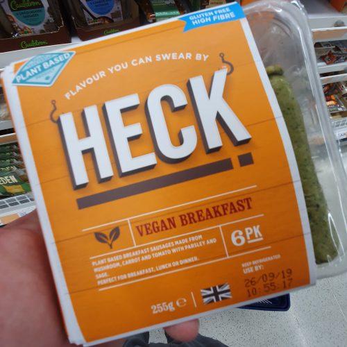 Heck 6 Vegan Breakfast Plant Based Sausages 255g