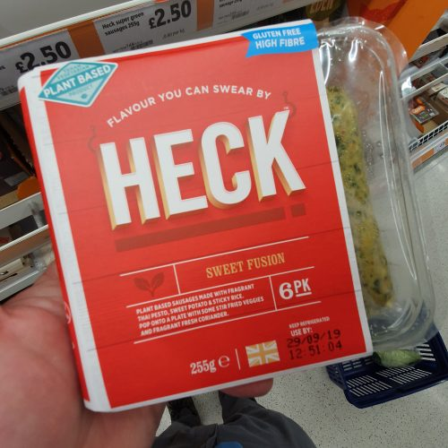 Heck Sweet Fusion Sausages