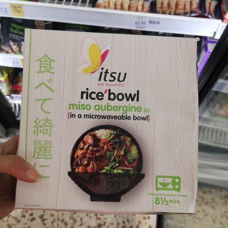 Itsu Miso Aubergine Rice Bowl 400G