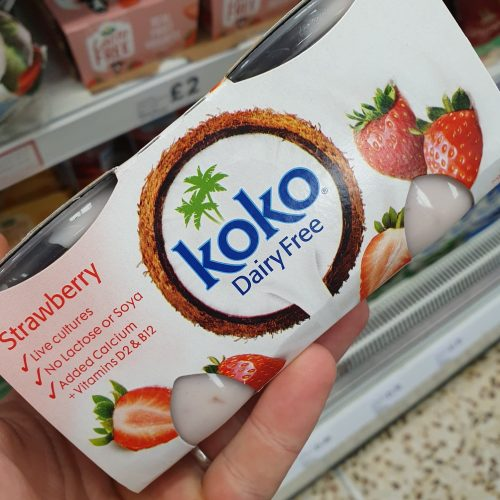Koko Dairy Free Strawberry Yoghurt Alternative 2 X125g