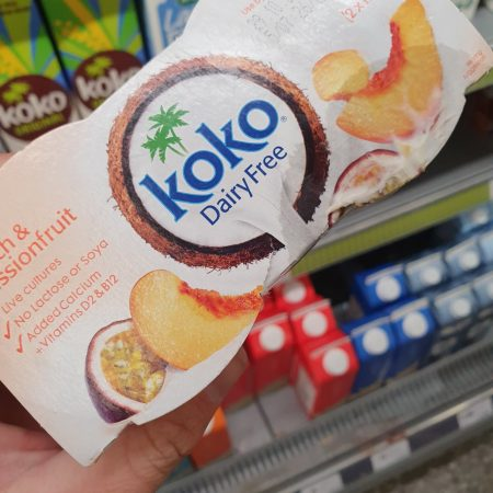 Koko Dairy Free Peach & Passionfruit Yogurt Alternative 2 x 125g
