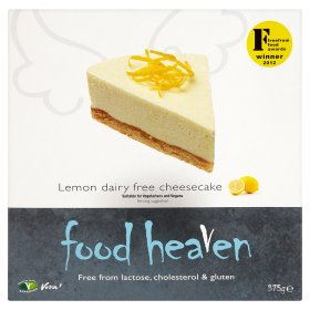 Lemon Dairy Free Cheesecake