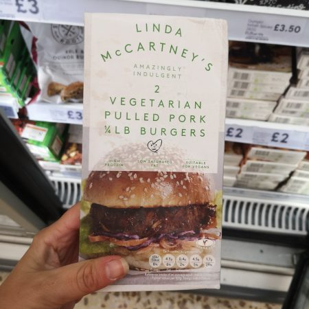 Linda Mccartney Bbq Pulled Pork Burger 227G