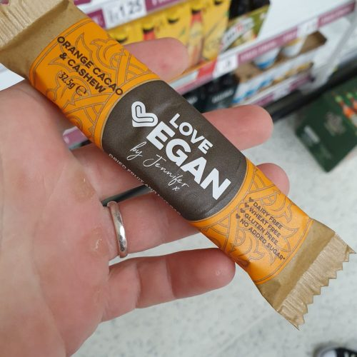Love Vegan – Cacao Orange And Cashew