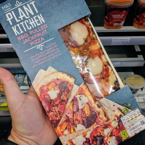 M&S Plant Kitchen BBQ Pulled Jackfruit Pizza