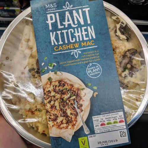 M&S Plant Kitchen Cashew Mac