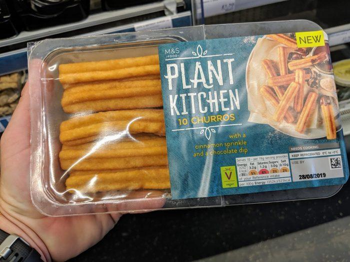 M&S Plant Kitchen Churros