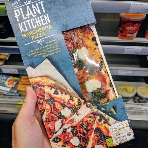 M&S Plant Kitchen Margherita Pizza
