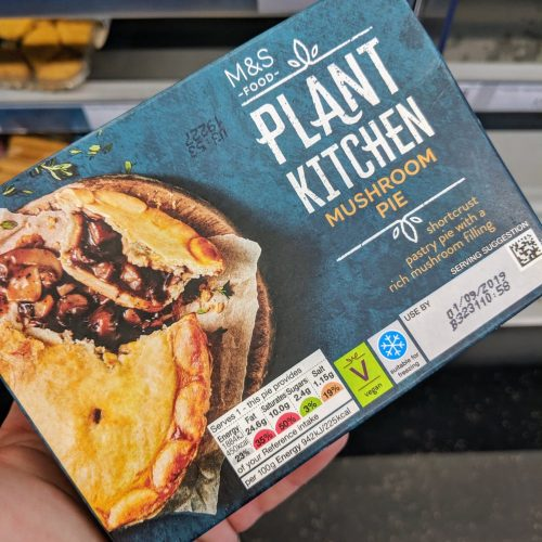 M&S Plant Kitchen Mushroom Pie