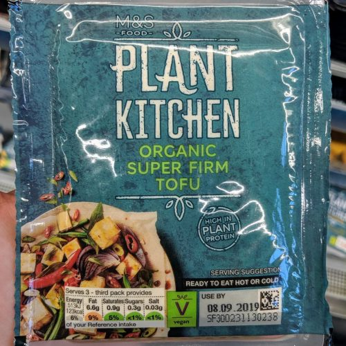 M&S Plant Kitchen Organic Super Firm Tofu