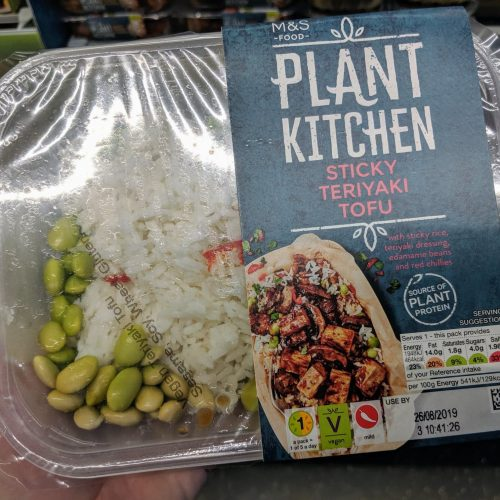 M&S Plant Kitchen Sticky Teriyaki Tofu