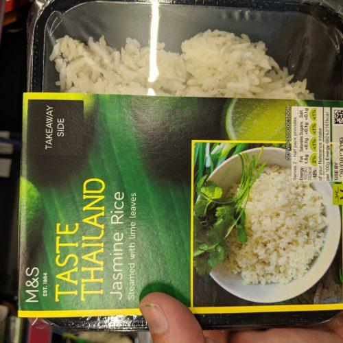M&S Taste Thailand Jasmine Rice
