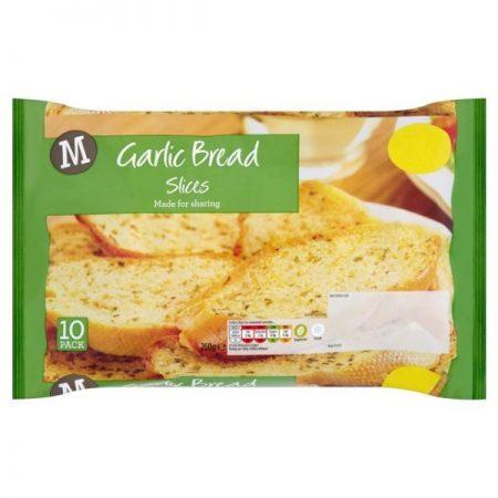 Morrisons Garlic Bread Slices 10 x 26g