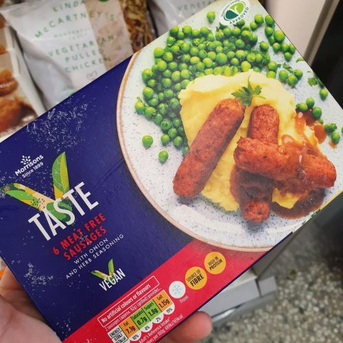 Morrisons 6 Meat Free Sausages 300g