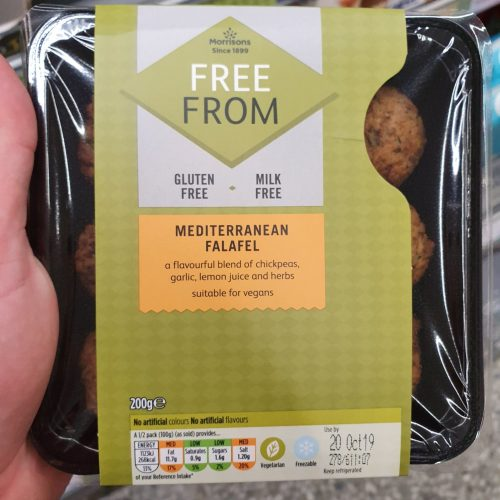 Morrisons Free From Mediterranean Falafel 200g