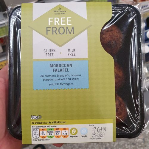 Morrisons Free From Moroccan Falafel 200g