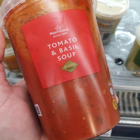 Morrisons Tomato & Basil Soup 600g
