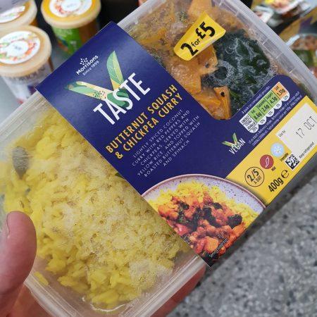 Morrisons V Taste Butternut Squash & Chickpea Curry 400g