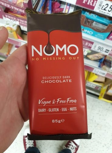 NOMO Deliciously Dark Chocolate