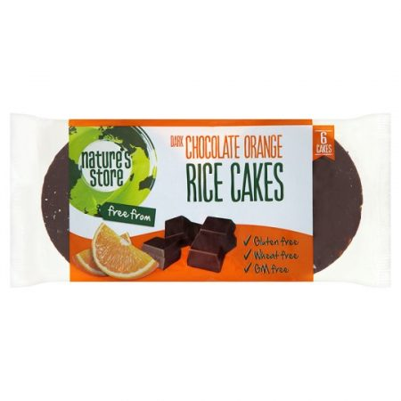 N/Store Free From Chocolate And Orange Rice Cake 100G