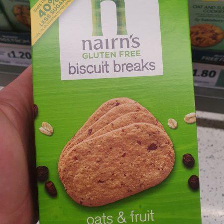 Nairn's Biscuit Break Oat & Fruit 160g