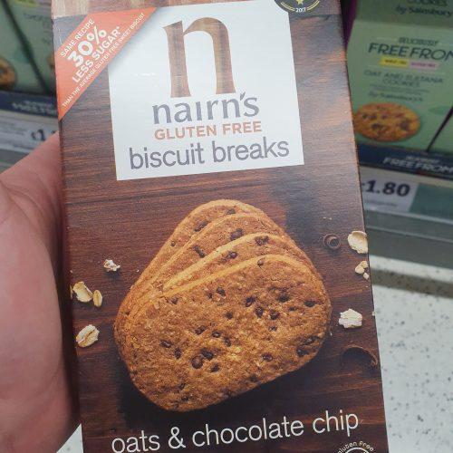 Nairn's Chocolate Biscuit Breaks 160g